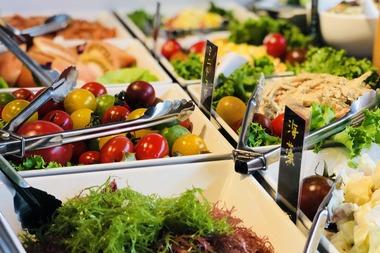 新村畜産 焼肉 彩り野菜